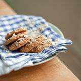 Oat cookies Stock Photos