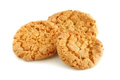 Oat cookies Stock Photo