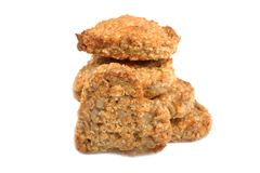Oat cookies. Royalty Free Stock Photo