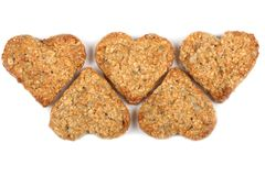 Oat cookies. Royalty Free Stock Images