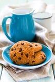 Oat cookies Stock Image