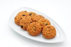 Oat cookies Oat cookies Oat cookies Royalty Free Stock Photography