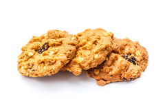 Oat cookies Stock Images