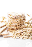 Oat dietary products Royalty Free Stock Photos