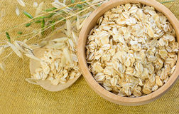 Oat Flake Stock Photo