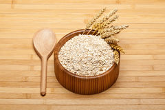 Oat flakes Royalty Free Stock Photos