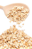 Oat-flakes Royalty Free Stock Image