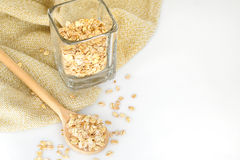 Oat-flakes Royalty Free Stock Photos