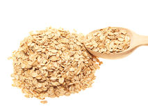Oat-flakes Stock Images