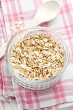 Oat flakes Royalty Free Stock Image