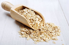 Oat flakes Royalty Free Stock Images