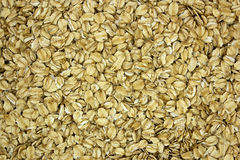 Oat flakes as background Stock Photo