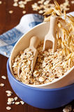 Oat flakes. Royalty Free Stock Images