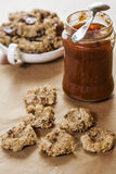 Oat flakes cookies Royalty Free Stock Image