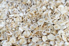 Oat flakes for cooking Stock Images