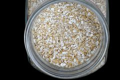 Oat flakes  for cooking Stock Photo