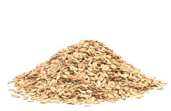 Oat flakes Stock Image