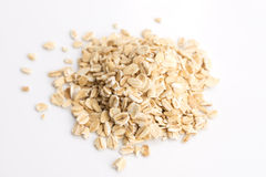Oat flakes pile Royalty Free Stock Photography