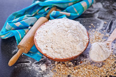 Oat flour Royalty Free Stock Images