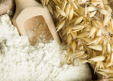 Oat flour Stock Photos