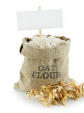 Oat flour Stock Photography