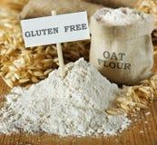 Oat flour Stock Images