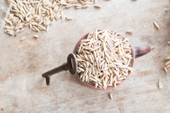 Oat grain Stock Photo