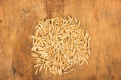 Oat grains Royalty Free Stock Images
