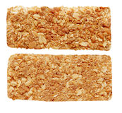 Oat granola bar Stock Images