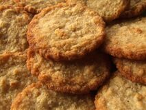 oat-meal-cookies Stock Image