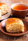 Oat pan rolls Royalty Free Stock Images