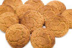Oat pastry close up Stock Photos