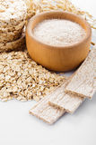Oat products Stock Photos