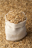 Oat in sac Royalty Free Stock Photography