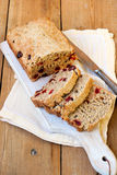 Oat and spelt flour bread Stock Photography