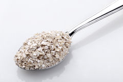 Oat spoon Stock Photo