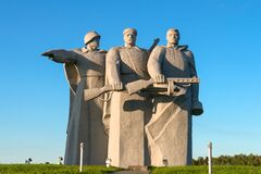An oath of allegiance to the Motherland! Memorial to Panfilov Heroes