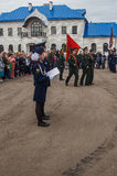 The oath of cadets of the cadet classes in the Kaluga region of Russia on 10 September 2016. Stock Images