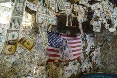 Oatman村庄,美元 免版税库存图片