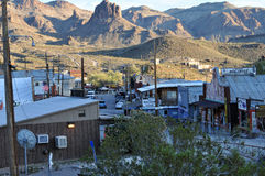 Oatman, Nevada, Bergbaustadt Lizenzfreies Stockbild