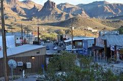 Oatman, Nevada, mining town Royalty Free Stock Image