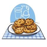 Oatmea cookies Stock Image