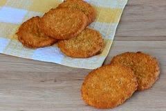 Oatmeal διατροφής μπισκότα Στοκ Εικόνες
