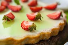 Oatmeal ικανότητας ξινή φράουλα Στοκ εικόνα με δικαίωμα ελεύθερης χρήσης