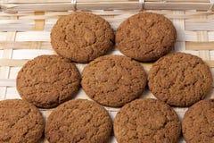 Oatmeal μπισκότα Στοκ Εικόνα