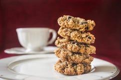 Oatmeal μπισκότα. Στοκ Φωτογραφίες