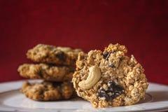 Oatmeal μπισκότα. Στοκ εικόνα με δικαίωμα ελεύθερης χρήσης