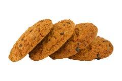 Oatmeal μπισκότα Στοκ Εικόνες