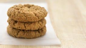 Oatmeal μπισκότα Anzac Στοκ Εικόνες
