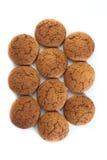 oatmeal μπισκότων Στοκ Εικόνες